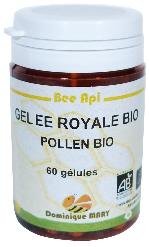 2 X GELEE ROYALE BIO ET POLLEN BIO  60 glules 